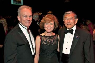 With Terre Jones and Norm Mineta, Wolf Trap Ball2